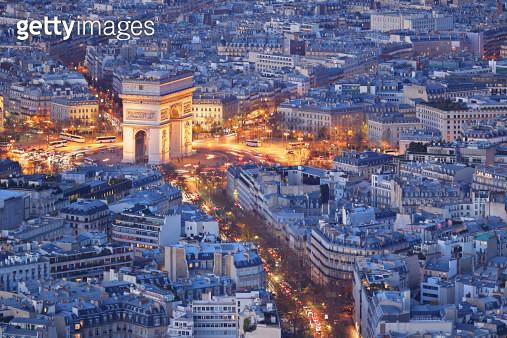 Arc de Triomphe - Paris - gettyimageskorea