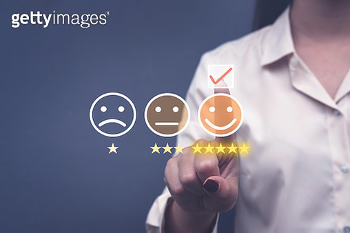 Review, Rating concept - gettyimageskorea