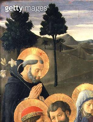 Detail of St. Dominic from the Crucifixion - gettyimageskorea