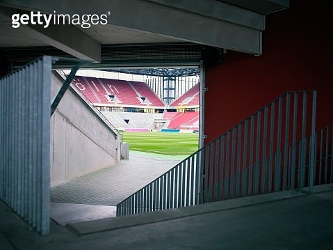 Players entrance to soccer field - gettyimageskorea