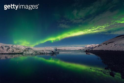 Aurora Borealis on Iceland - gettyimageskorea