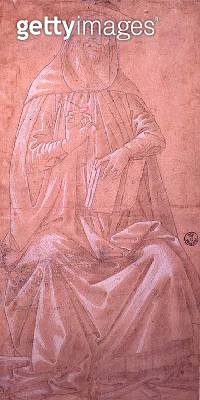 Study of St. Jerome (drawing) - gettyimageskorea