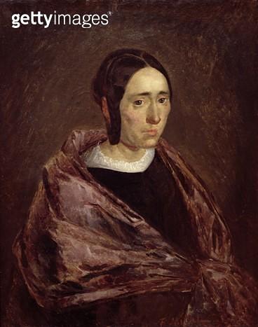 <b>Title</b> : Portrait of Catherine Roumy (oil on canvas)<br><b>Medium</b> : <br><b>Location</b> : Algeria<br> - gettyimageskorea