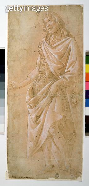 Study of St. John the Baptist (drawing) - gettyimageskorea