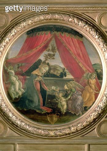 <b>Title</b> : The Madonna del Padiglione<br><b>Medium</b> : <br><b>Location</b> : Pinacoteca di Brera, Milan, Italy<br> - gettyimageskorea