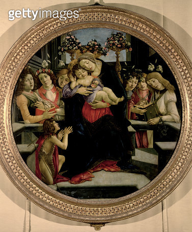 <b>Title</b> : Madonna and Child with Angels and St. John the Baptist<br><b>Medium</b> : <br><b>Location</b> : Galleria Borghese, Rome, Italy<br> - gettyimageskorea