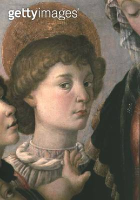 St. John from the Virgin and Child (tempera on wood) - gettyimageskorea