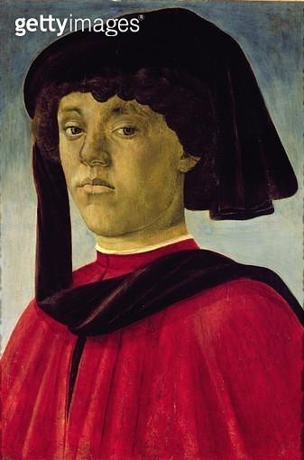 <b>Title</b> : Portrait of a Young Man<br><b>Medium</b> : <br><b>Location</b> : Palazzo Pitti, Florence, Italy<br> - gettyimageskorea