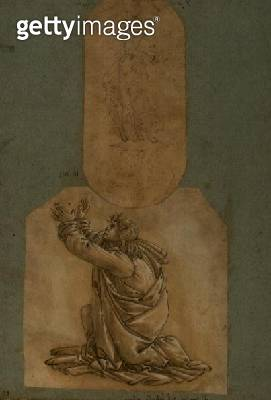 Study of St. Thomas (drawing) - gettyimageskorea
