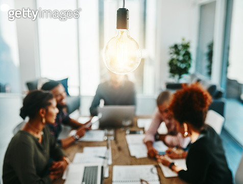 You're one meeting away from a brilliant idea - gettyimageskorea