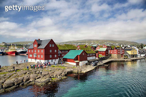 Tinganes in Torshavn - gettyimageskorea