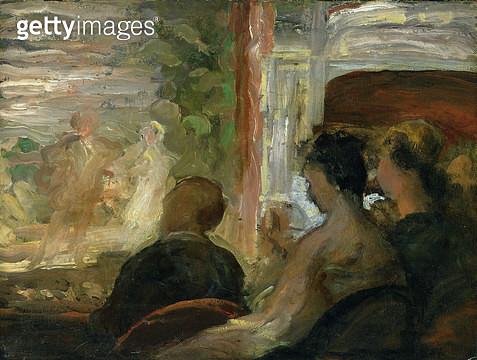 <b>Title</b> : A Box at the Theatre, c.1865-70  (oil on canvas)<br><b>Medium</b> : oil on canvas<br><b>Location</b> : Hamburger Kunsthalle, Hamburg, Germany<br> - gettyimageskorea