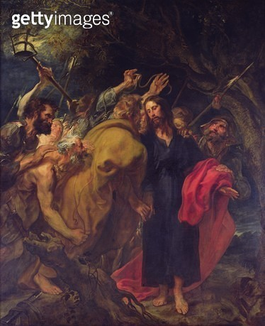 The Betrayal of Christ - gettyimageskorea