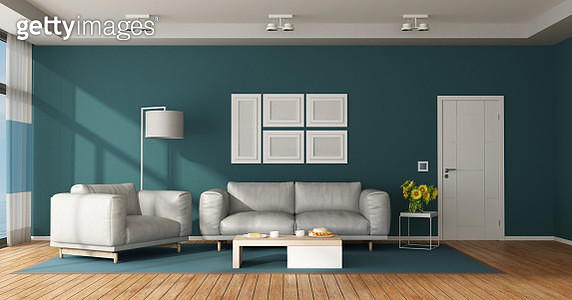 Interior Of Modern Living Room At Home - gettyimageskorea