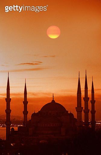 Sunrise at Mosque. - gettyimageskorea