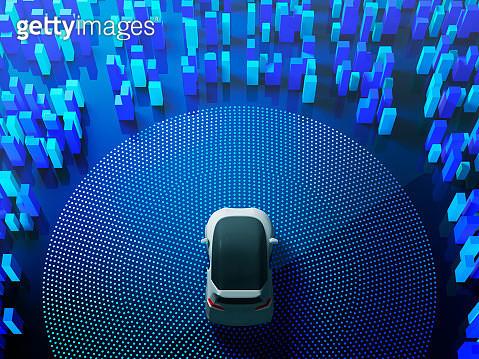 Auto Driving Smart Car image - gettyimageskorea