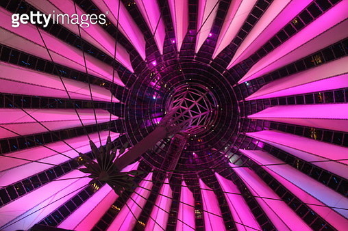 Low Angle View Of Illuminated Ceiling - gettyimageskorea