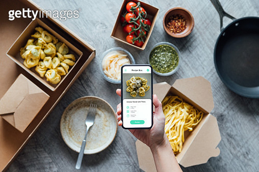 Fresh Recipe Box And Food Delivery - gettyimageskorea