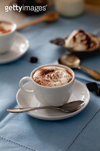 Hot chocolate with cream - gettyimageskorea