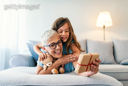 Gift from granny - gettyimageskorea