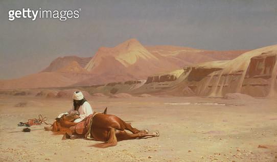 <b>Title</b> : In the Desert<br><b>Medium</b> : <br><b>Location</b> : <br> - gettyimageskorea