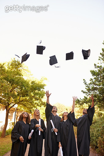 In true graduation day tradition - gettyimageskorea