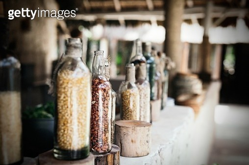 Mexican restaurant in the beach, Tulum, Mexico - gettyimageskorea