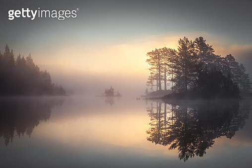 The name of the lake is Vrangla. It's located in a forest close to Drammen city, Norway - gettyimageskorea