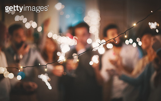 New Year's party at home 4k - gettyimageskorea