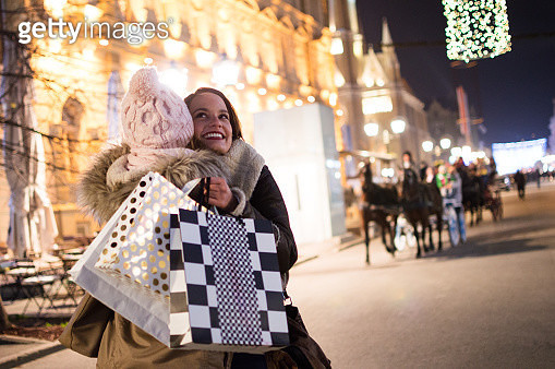 Winter shopping season - gettyimageskorea