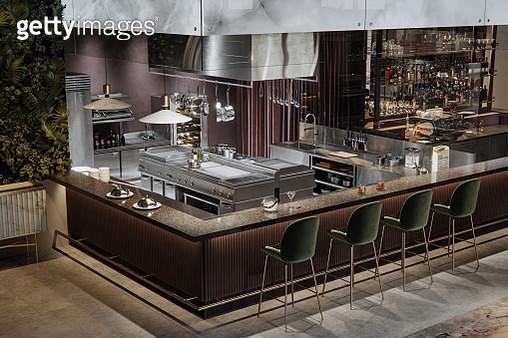 Interior of a luxury pub and restaurant - gettyimageskorea