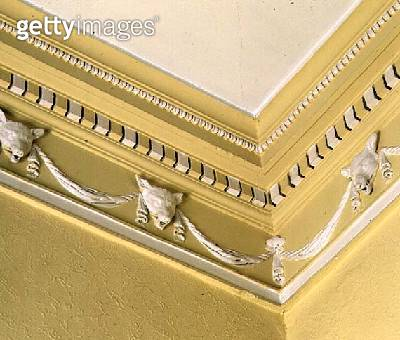 <b>Title</b> : Neo-classical frieze from the dining room, Belle Isle, Windermere, 1774 (photo)<br><b>Medium</b> : <br><b>Location</b> : Credit: Bridgeman Art Library, London<br> - gettyimageskorea