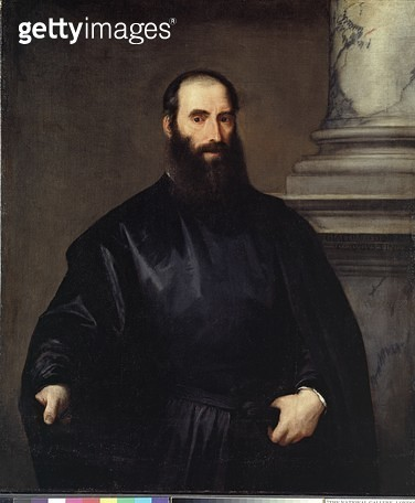 <b>Title</b> : Giacomo Doria, c.1530-35 (oil on canvas)Additional InfoGenoese branch of the Doria family;<br><b>Medium</b> : oil on canvas<br><b>Location</b> : Ashmolean Museum, University of Oxford, UK<br> - gettyimageskorea
