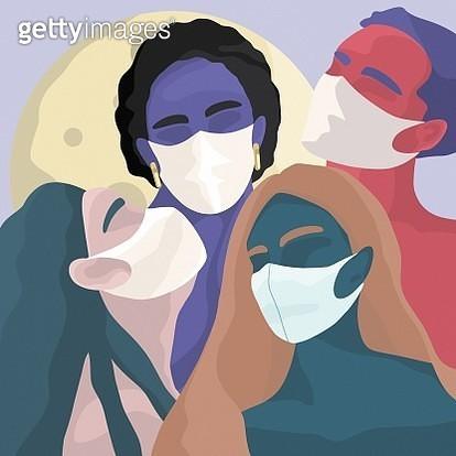 People wearing surgical mask - gettyimageskorea