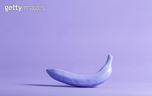 Painted funky banana - gettyimageskorea