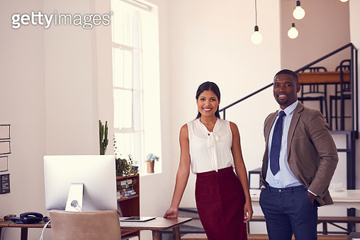 We bring a great dynamic into the office - gettyimageskorea