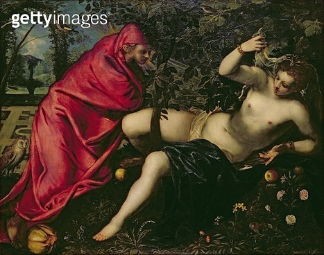 Angelica and the Hermit - gettyimageskorea
