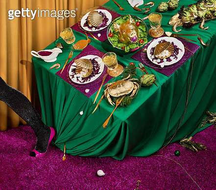 Golden Feast - gettyimageskorea