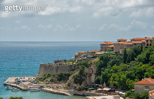 Ulcinj is a town on the southern coast of Montenegro and the capital of Ulcinj Municipality. - gettyimageskorea