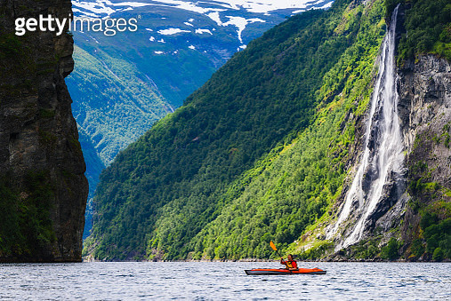 Person kayaking - gettyimageskorea