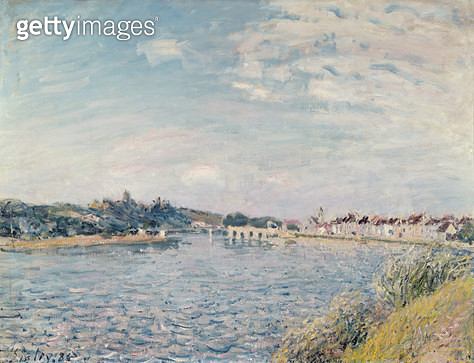 <b>Title</b> : Landscape, 1888 (oil on canvas)<br><b>Medium</b> : oil on canvas<br><b>Location</b> : Musee des Beaux-Arts, Dijon, France<br> - gettyimageskorea