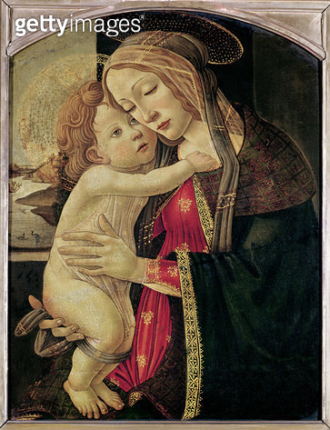 <b>Title</b> : The Virgin and Child, c.1500 (oil on panel)<br><b>Medium</b> : oil on panel<br><b>Location</b> : Musee des Beaux-Arts, Lille, France<br> - gettyimageskorea