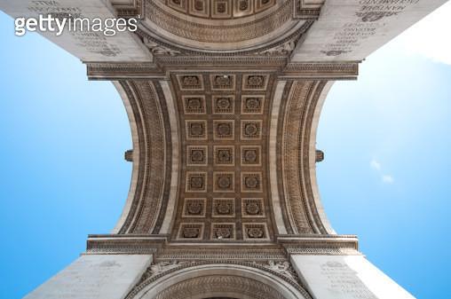 Arc de triomphe, Paris - gettyimageskorea