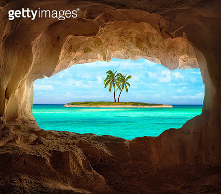 Paradise in the Caribbean - gettyimageskorea