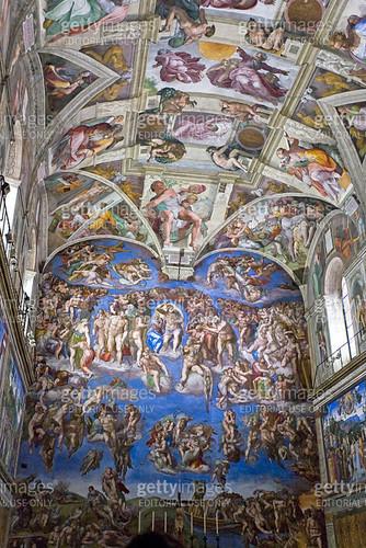Sistine Chapel - gettyimageskorea
