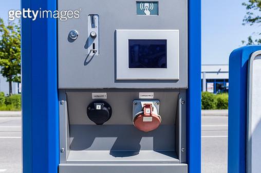 Electric Vehicle Charging - gettyimageskorea