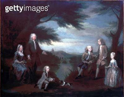 <b>Title</b> : The Jeffreys Family<br><b>Medium</b> : <br><b>Location</b> : Private Collection<br> - gettyimageskorea