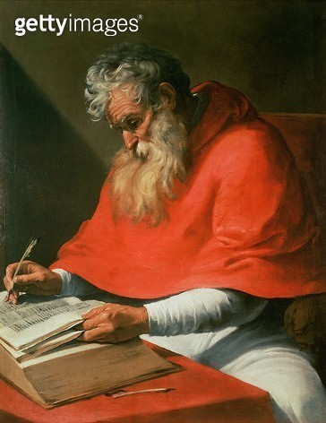 <b>Title</b> : St. Jerome<br><b>Medium</b> : <br><b>Location</b> : Private Collection<br> - gettyimageskorea