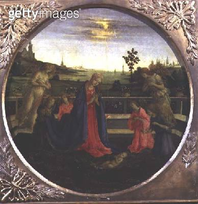 <b>Title</b> : The Adoration of the Infant Jesus<br><b>Medium</b> : <br><b>Location</b> : <br> - gettyimageskorea