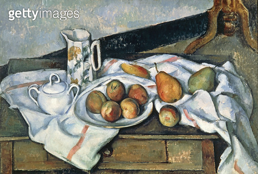 <b>Title</b> : Still Life of Peaches and Pears, 1888-90 (oil on canvas)<br><b>Medium</b> : oil on canvas<br><b>Location</b> : Pushkin Museum, Moscow, Russia<br> - gettyimageskorea